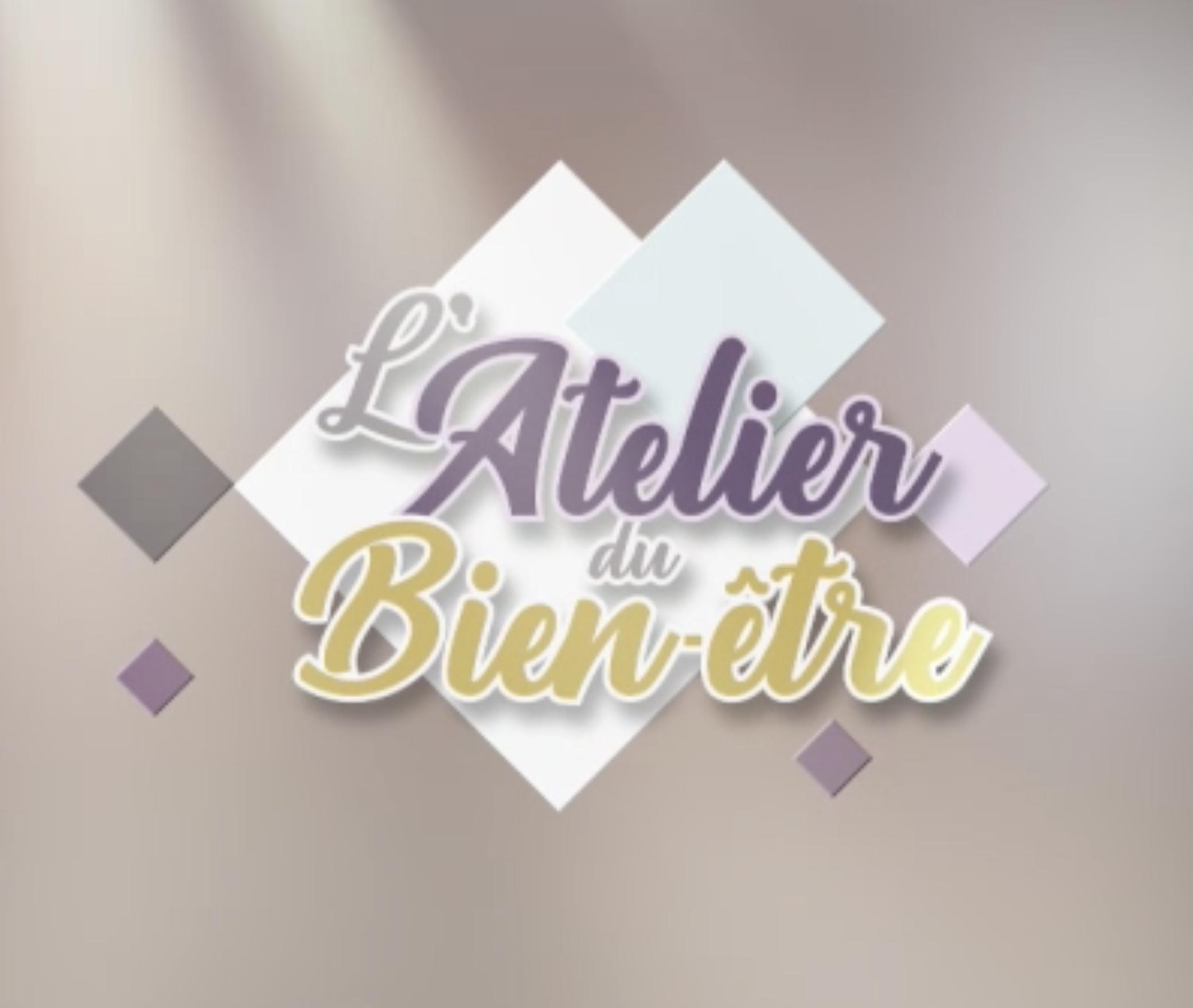logo atelier du bien être émission tv Vendée