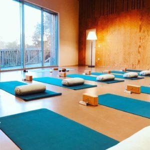 salle de pratique de yoga de yoga flow with Remy