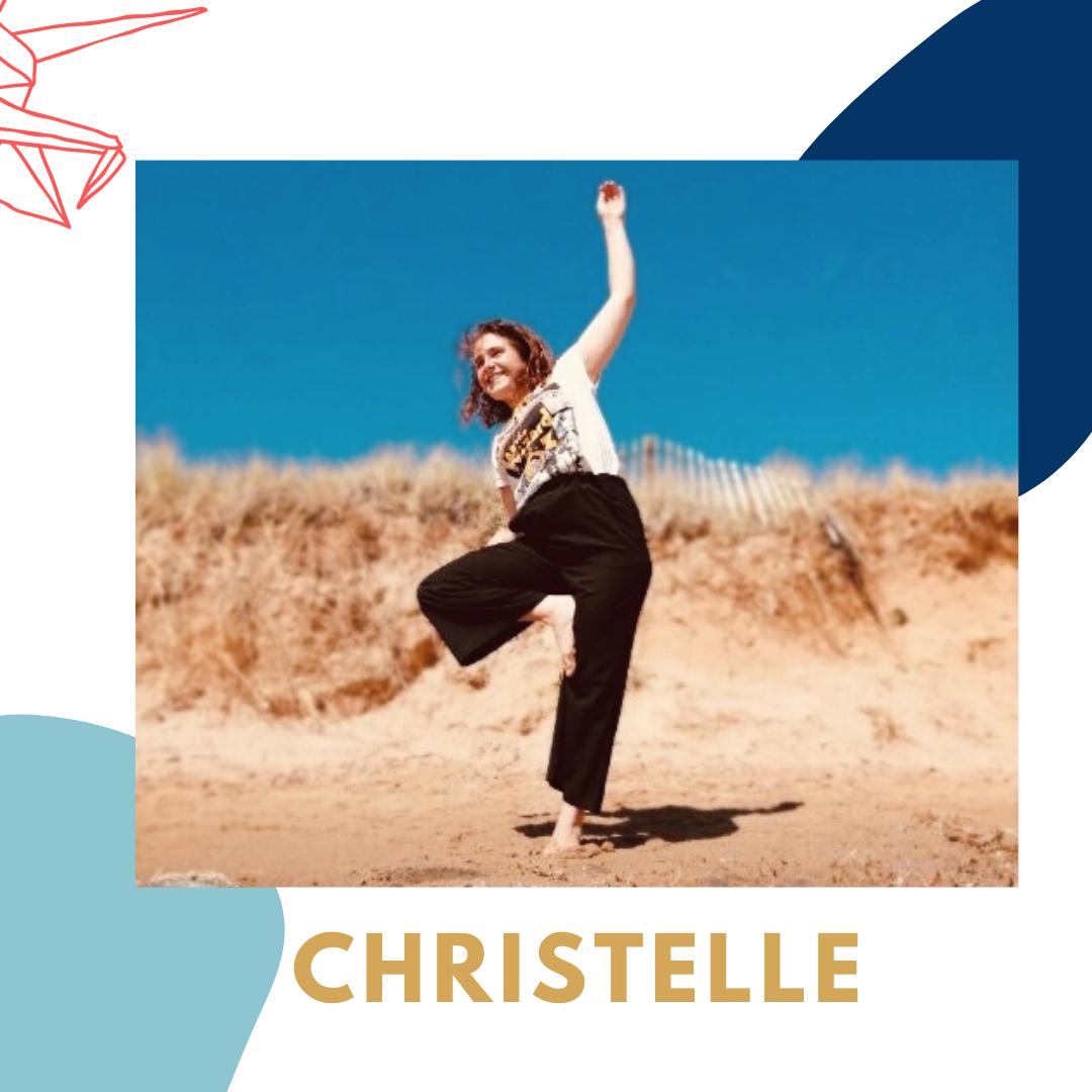 Christelle enseignante de Vinyasa pour Yoga Flow