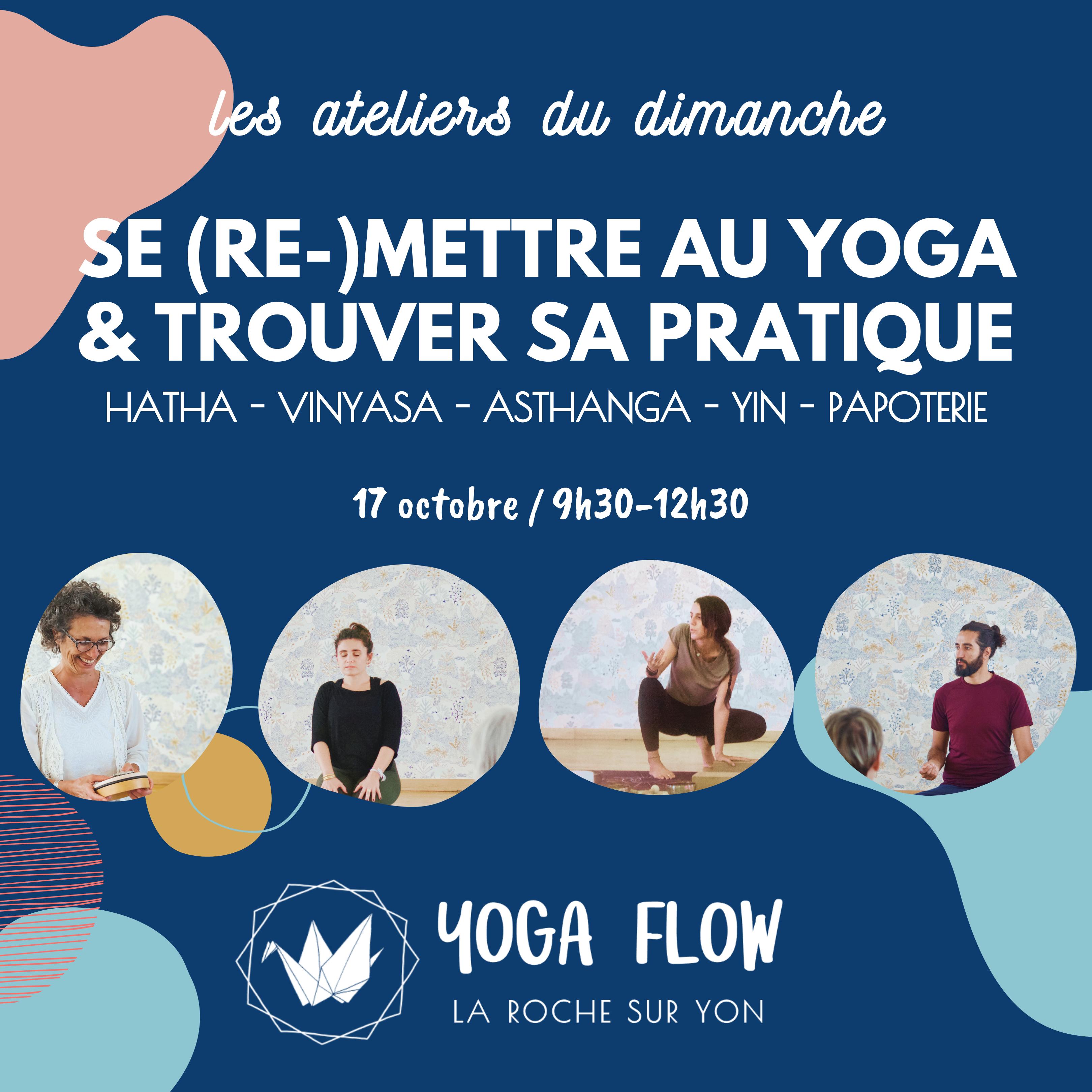 Atelier découverte du Studio Yoga Flow